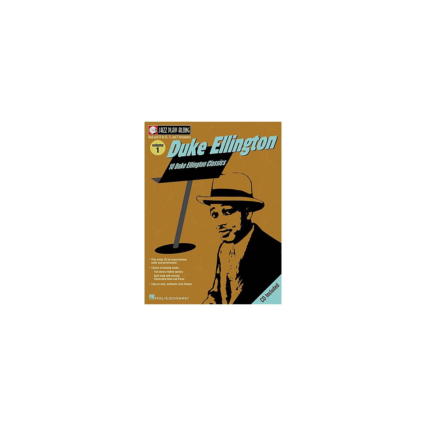 Hal Leonard Duke Ellington - Jazz Play Along, Volume 1 (Book/CD) thumbnail