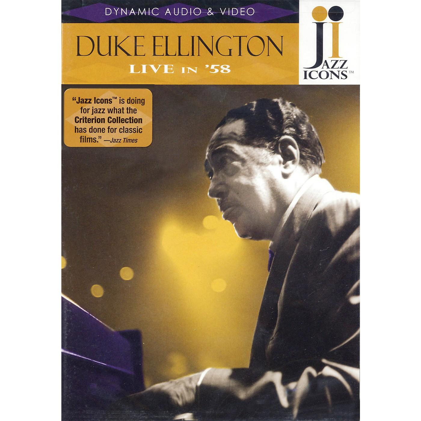 Jazz Icons Duke Ellington - Live in '58 Live/DVD Series DVD Performed by Duke Ellington thumbnail