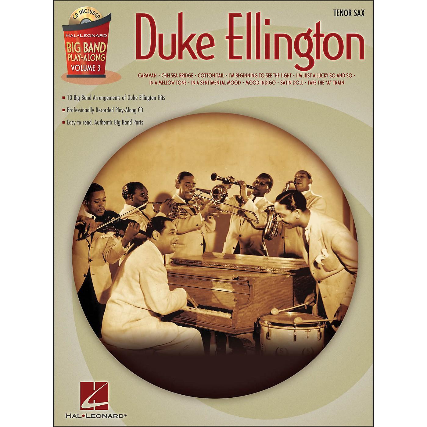 Hal Leonard Duke Ellington Big Band Play-Along Vol. 3 Tenor Sax thumbnail
