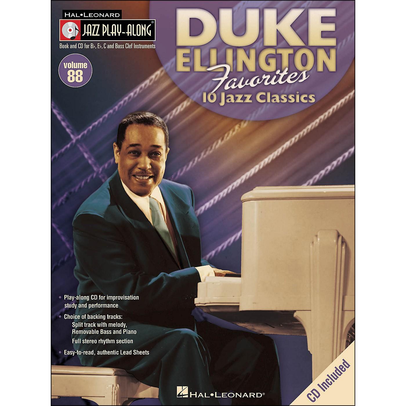 Hal Leonard Duke Ellington Favorites - Jazz Play-Along Volume 88 (CD/Pkg) thumbnail