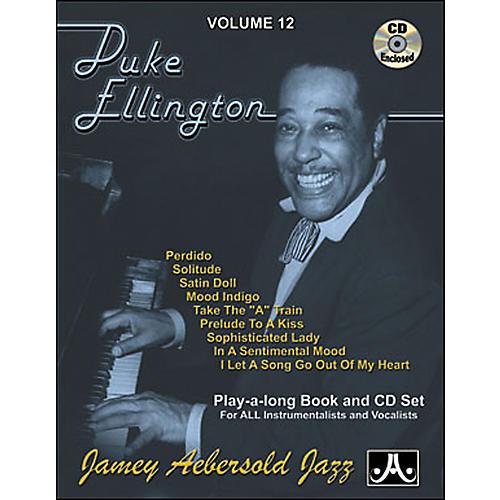 Jamey Aebersold Duke Ellington Play-Along Book and CD thumbnail