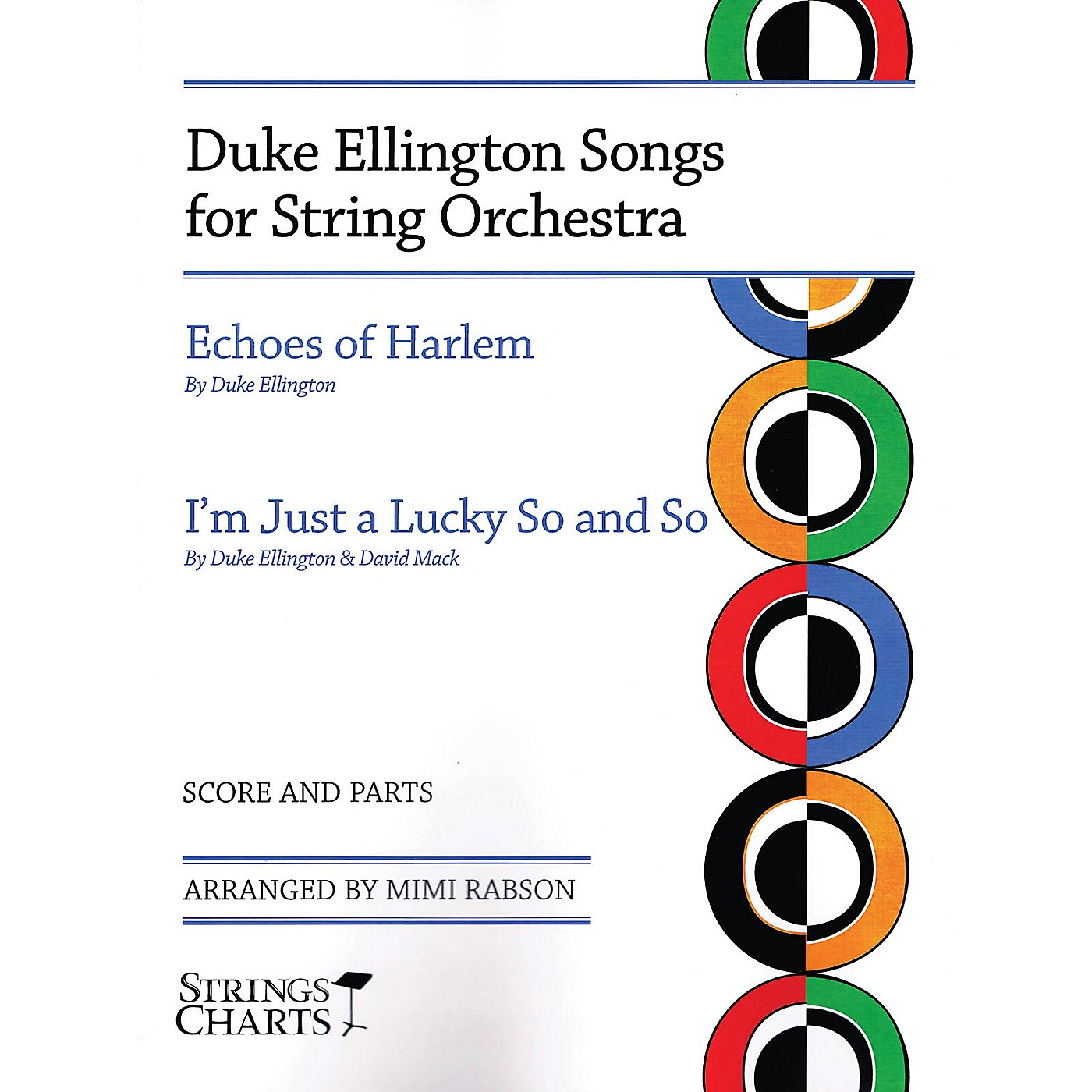 String Letter Publishing Duke Ellington Songs for String Orchestra String Letter Publishing Series Softcover by Mimi Rabson thumbnail
