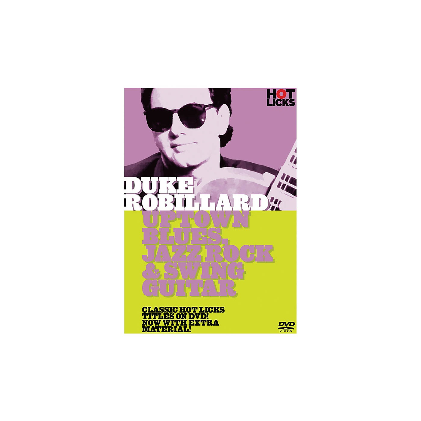 Music Sales Duke Robillard - Uptown Blues, Jazz Rock & Swing Guitar Music Sales America Series DVD by Duke Robillard thumbnail