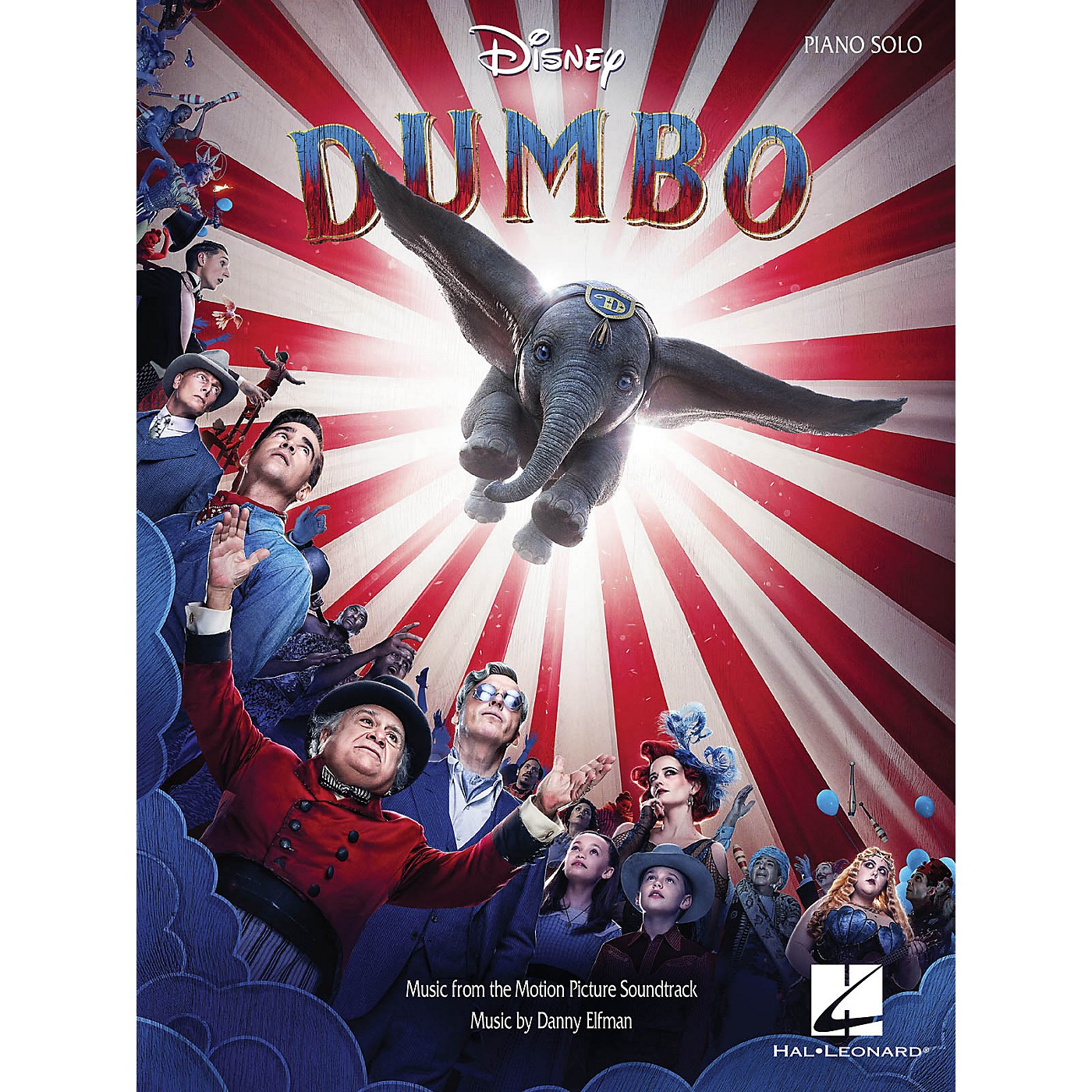 Hal Leonard Dumbo (Music from the Motion Picture Soundtrack) Piano Solo Songbook thumbnail