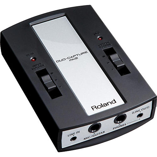 Roland Duo-Capture MK2 USB Audio Interface thumbnail