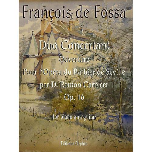 Carl Fischer Duo Concertant Op.16 Ouverture pour l'Opera du Barbier de Seville par D. Ramon Carnicer thumbnail