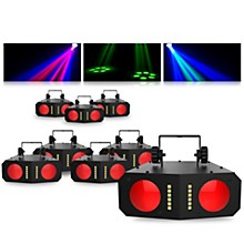 CHAUVET DJ Duo Moon LED Effect Light 8 Pack