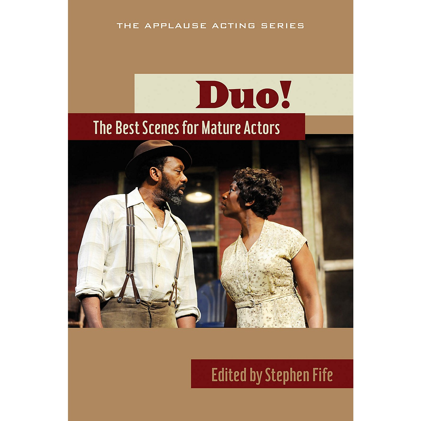 Applause Books Duo!: The Best Scenes for Mature Actors Applause Acting Series Series Softcover thumbnail