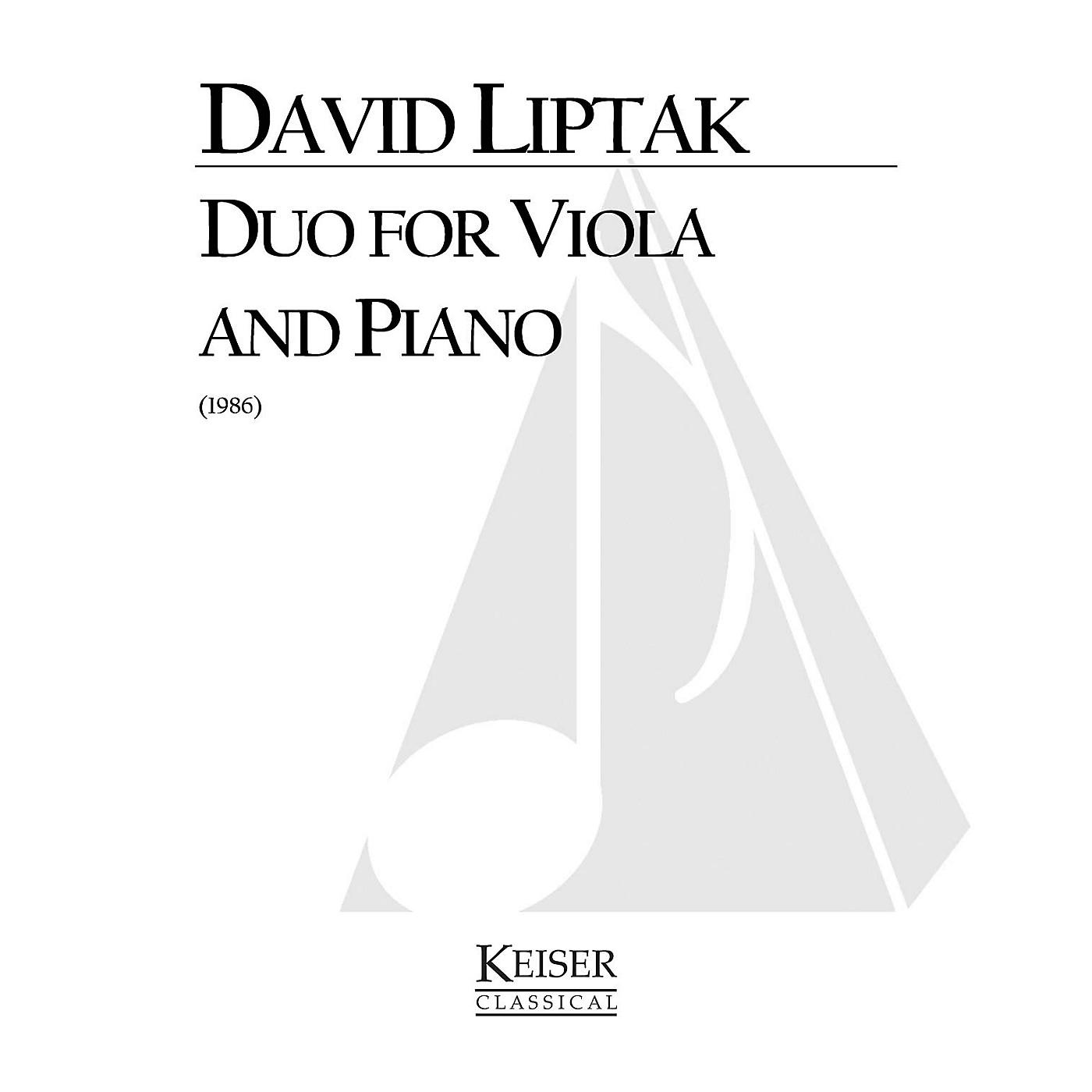 Lauren Keiser Music Publishing Duo (Viola with piano) LKM Music Series Composed by David Liptak thumbnail