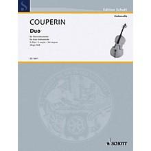 Schott Duo in G Major (Performance Score) Schott Series Composed by François Couperin
