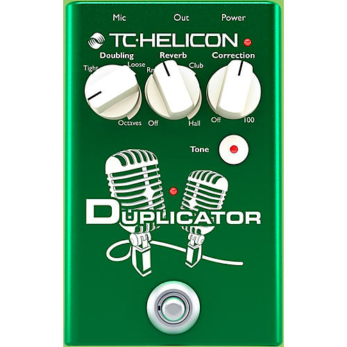 TC Helicon Duplicator Vocal Doubling Effects Pedal thumbnail