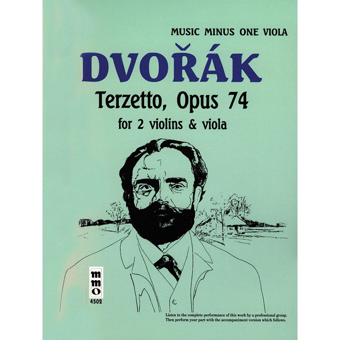 Music Minus One Dvorák - Terzetto in C Major, Op. 74 (Music Minus One Viola) Music Minus One Series Softcover with CD thumbnail