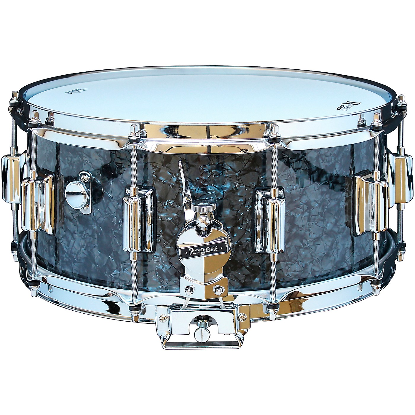 Rogers Dyna-Sonic Snare Drum with Beavertail Lugs thumbnail