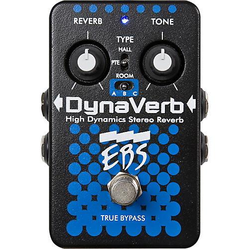 EBS DynaVerb High Dynamics Stereo Reverb Pedal thumbnail