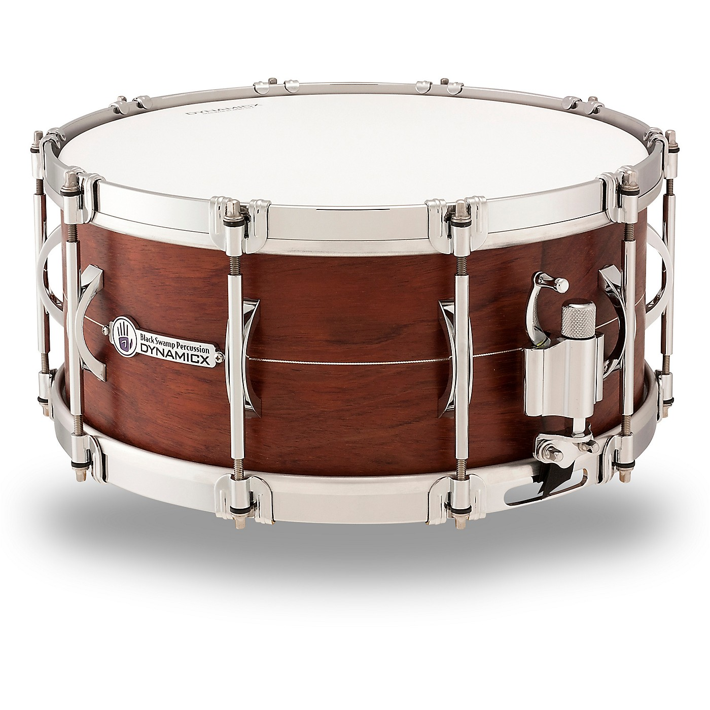 Black Swamp Percussion Dynamicx Sterling Series Snare Drum thumbnail
