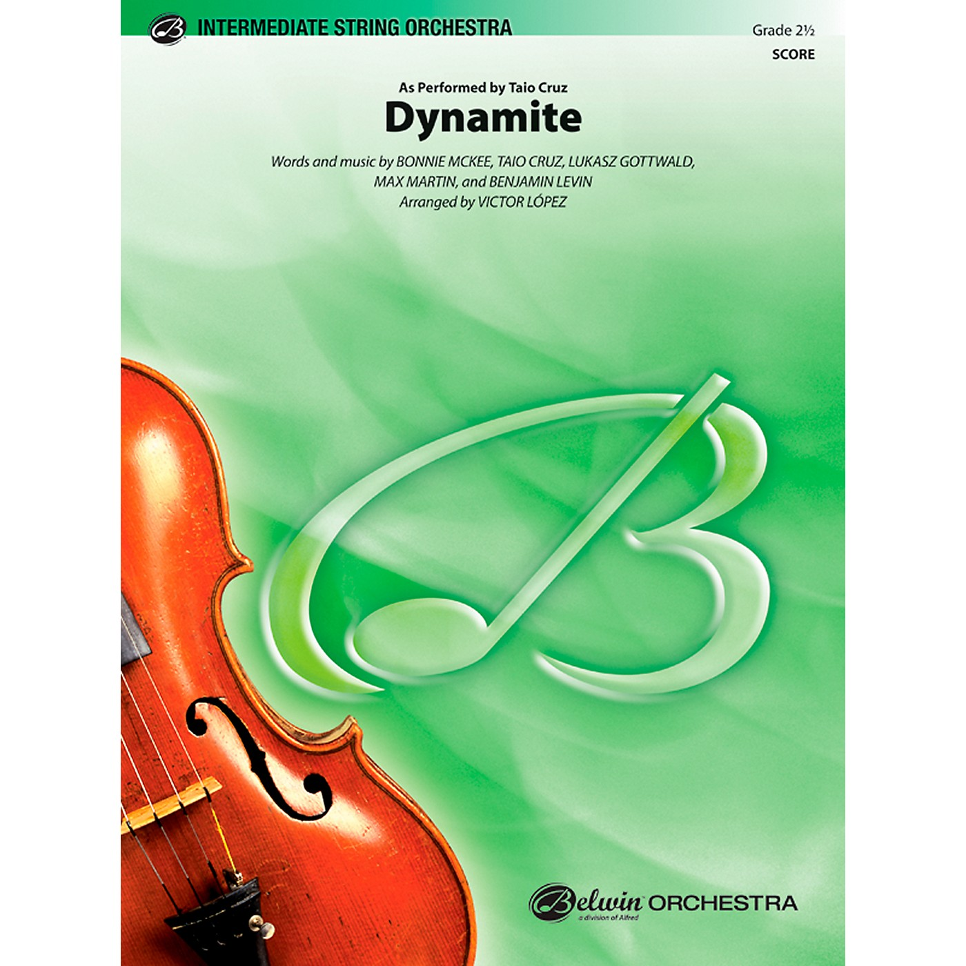 Alfred Dynamite String Orchestra Grade 2.5 Set thumbnail
