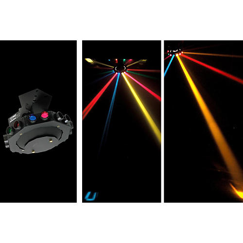 Eliminator Lighting E-113 Roto Saucer Rotating Multicolor Effect Light-thumbnail