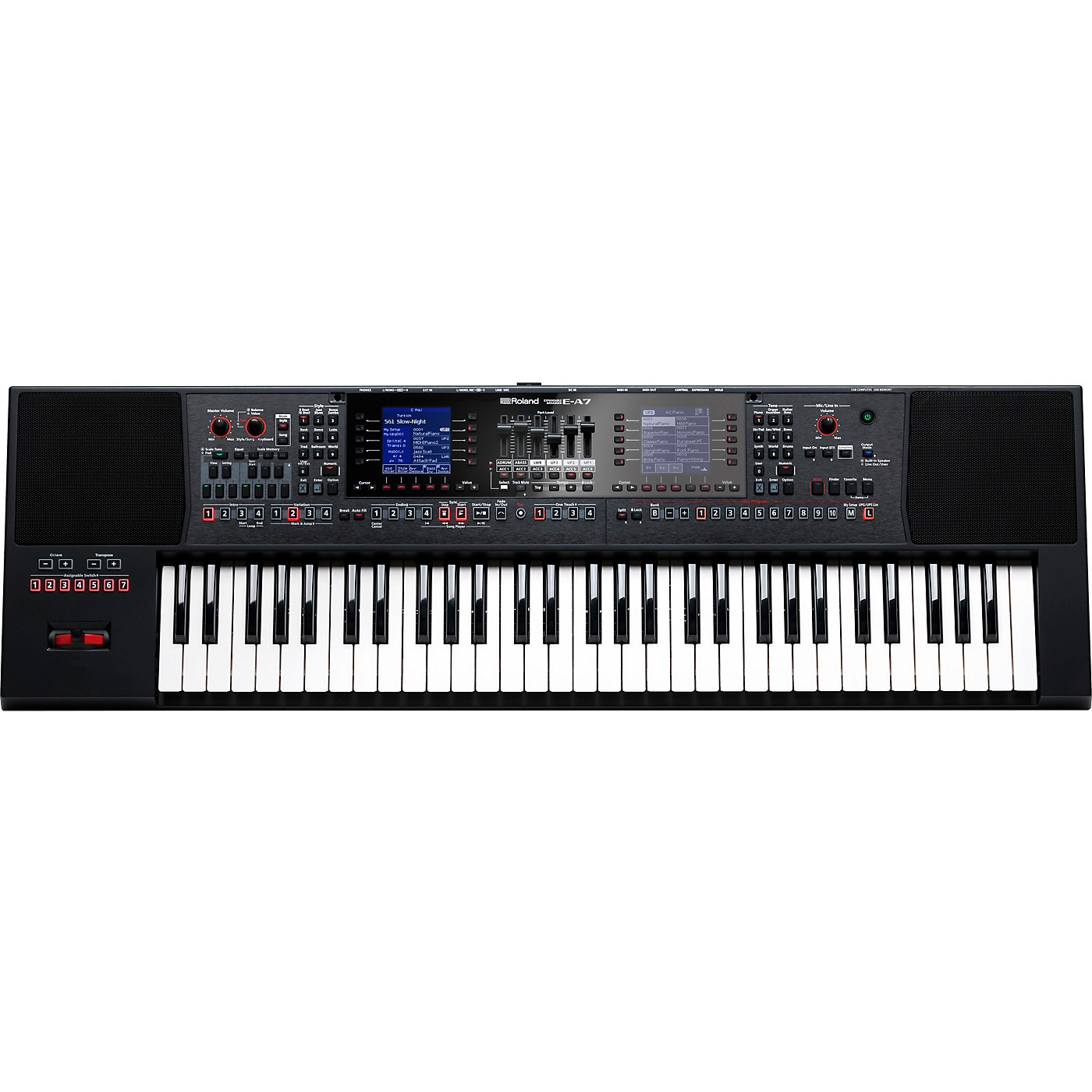Roland E-A7 Arranger Keyboard thumbnail