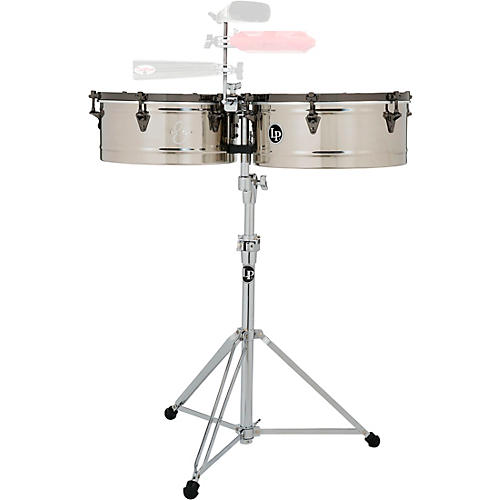 LP E-Class Timbale Set with Stand and Black Nickel Hardware thumbnail