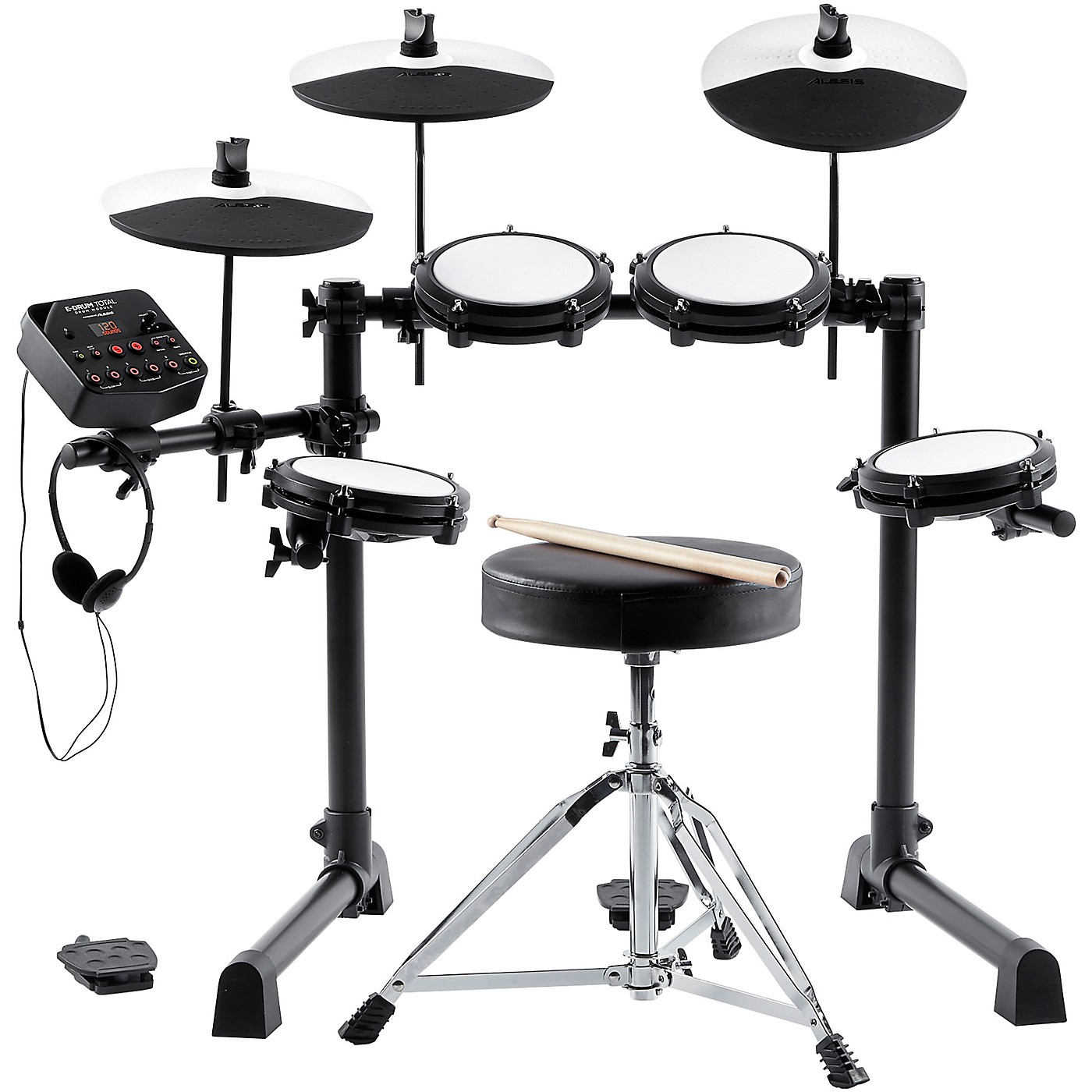 Alesis E-Drum Total Mesh Head Electronic Drum Kit Bundle thumbnail