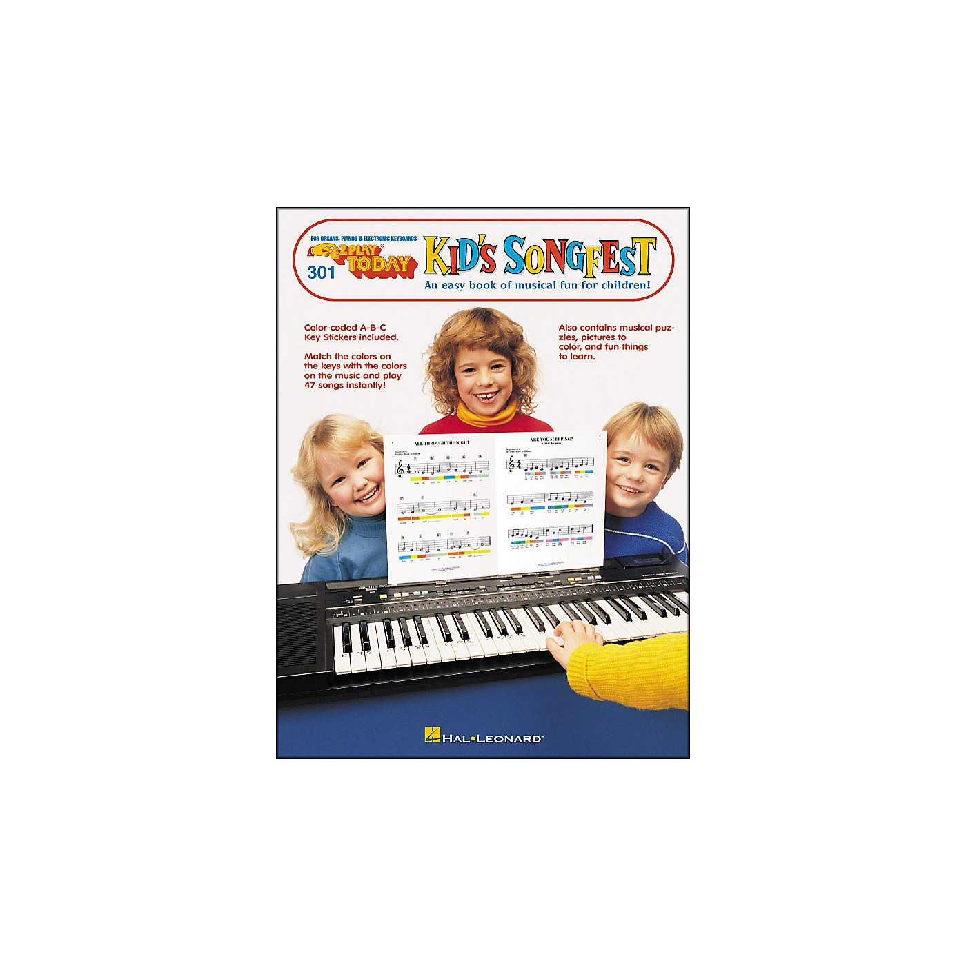 Hal Leonard E-Z Play 301 Kid Songfest thumbnail