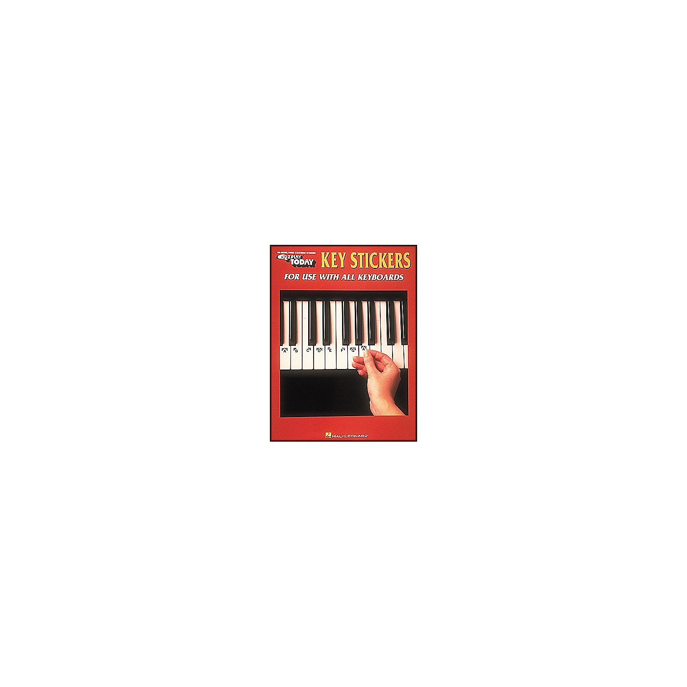 Hal Leonard E-Z Play Key Stickers for Use with All Keyboards thumbnail
