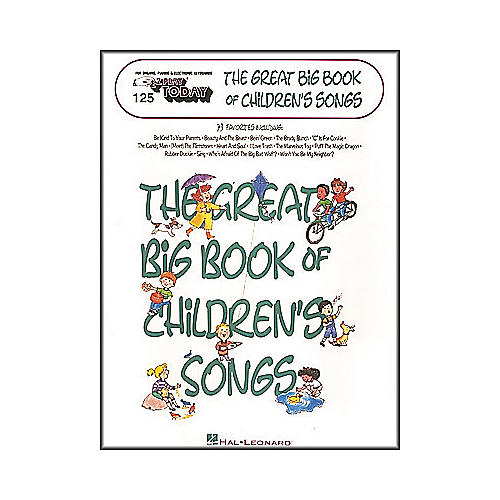 Hal Leonard E-Z Play Today No. 125 - The Great Big Book of Children's Songs-thumbnail