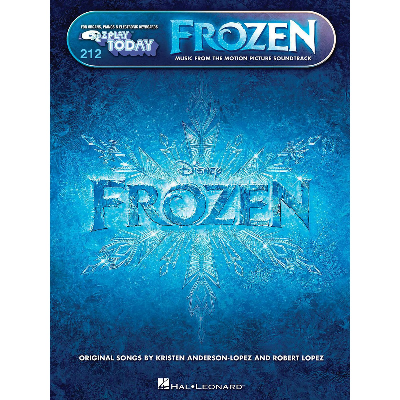 Hal Leonard E-Z Play Today Volume 212 Frozen - Music From The Motion Picture thumbnail