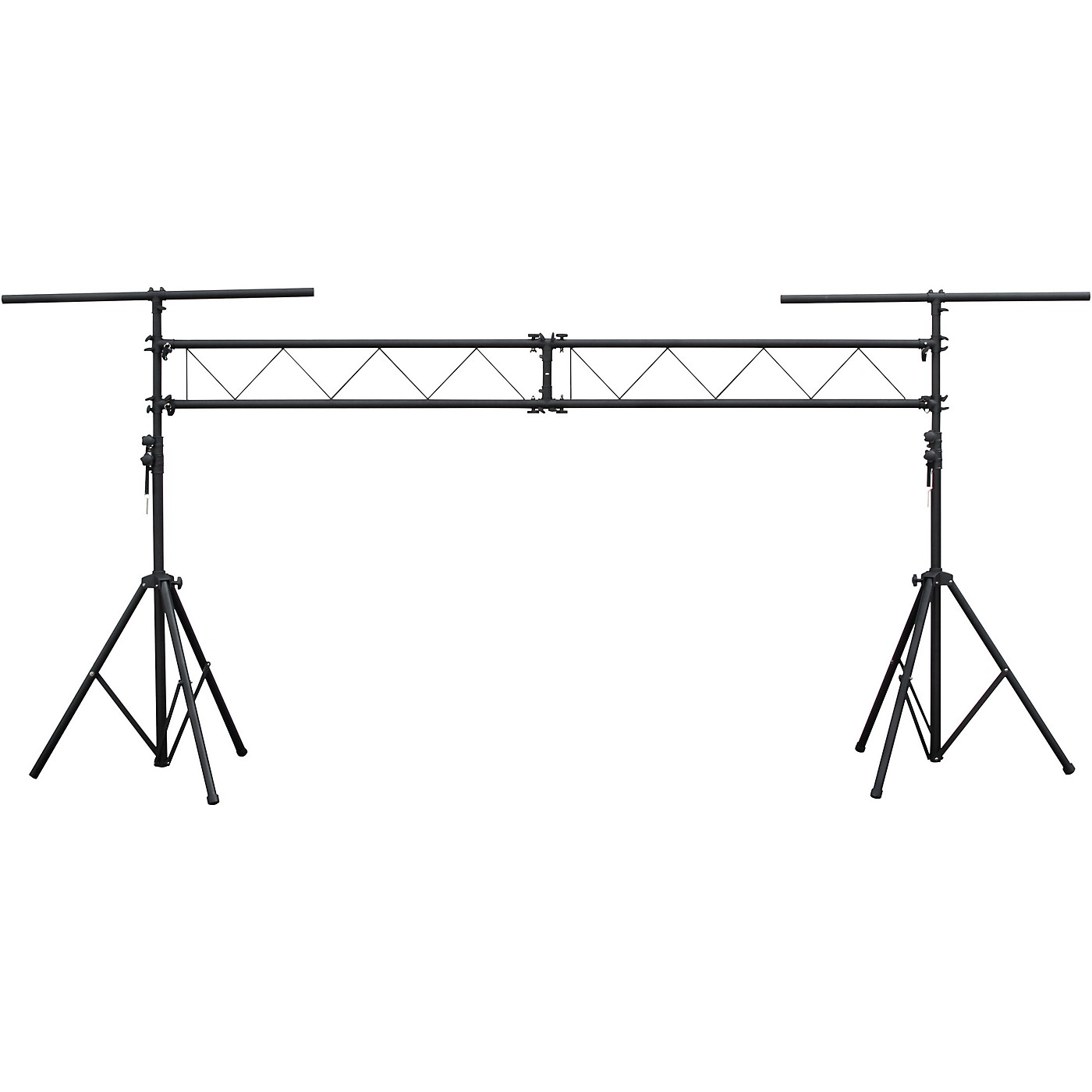 Eliminator Lighting E116 Dual Tripod Stand and 2x5 ft I Beam Truss System For Mobile Entertainers thumbnail