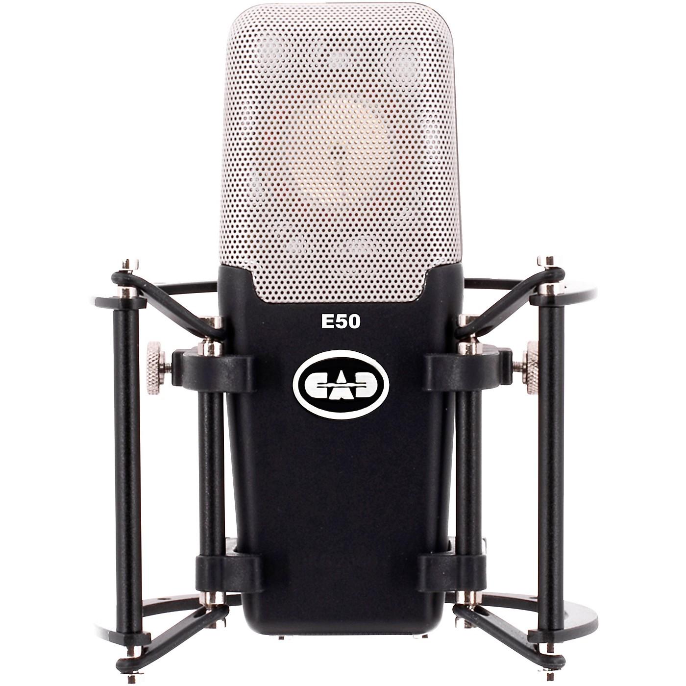 CAD E50 Equitek Large Diaphragm Side Address Studio Condenser Microphone thumbnail
