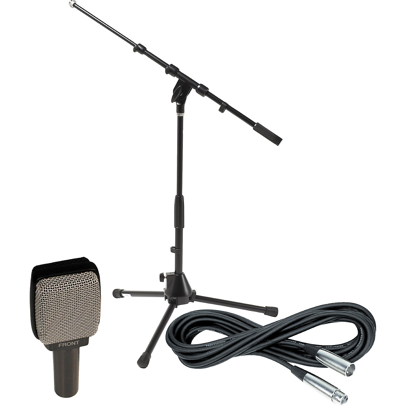 Sennheiser E609 Dynamic Guitar Mic with Stand and Cable thumbnail
