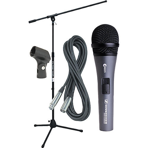 Sennheiser E822 Mic with Stand, Cable & Clip-thumbnail