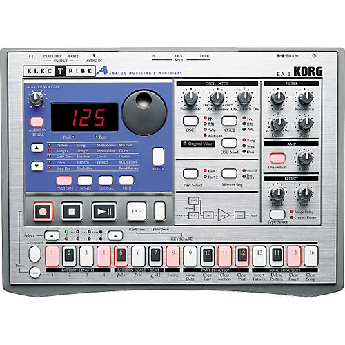 Korg EA-1 Electribe with Backpack thumbnail