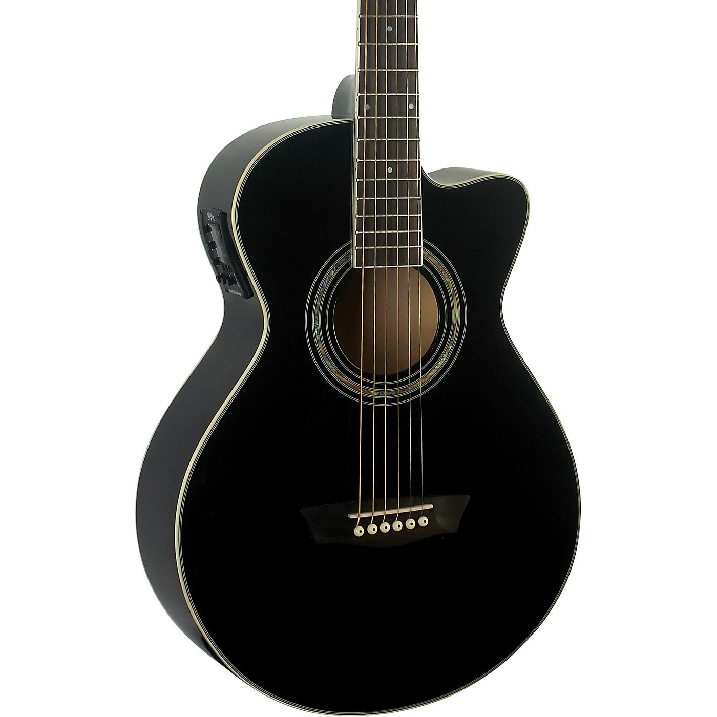Washburn EA10B Festival Jumbo Acoustic-Electric Guitar thumbnail