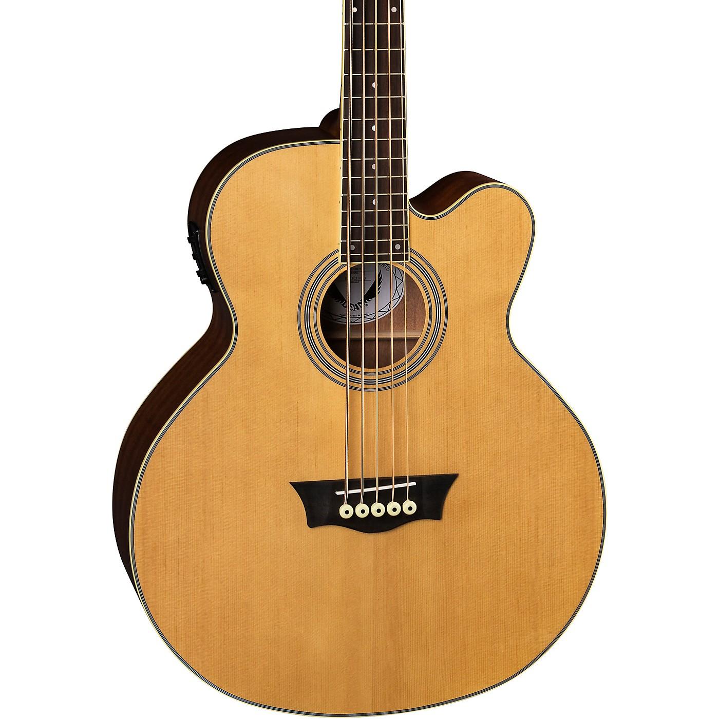 Dean EABC 5-String Cutaway Acoustic-Electric Bass thumbnail