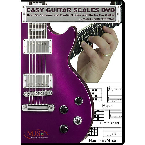 MJS Music Publications EASY GUITAR SCALES DVD thumbnail