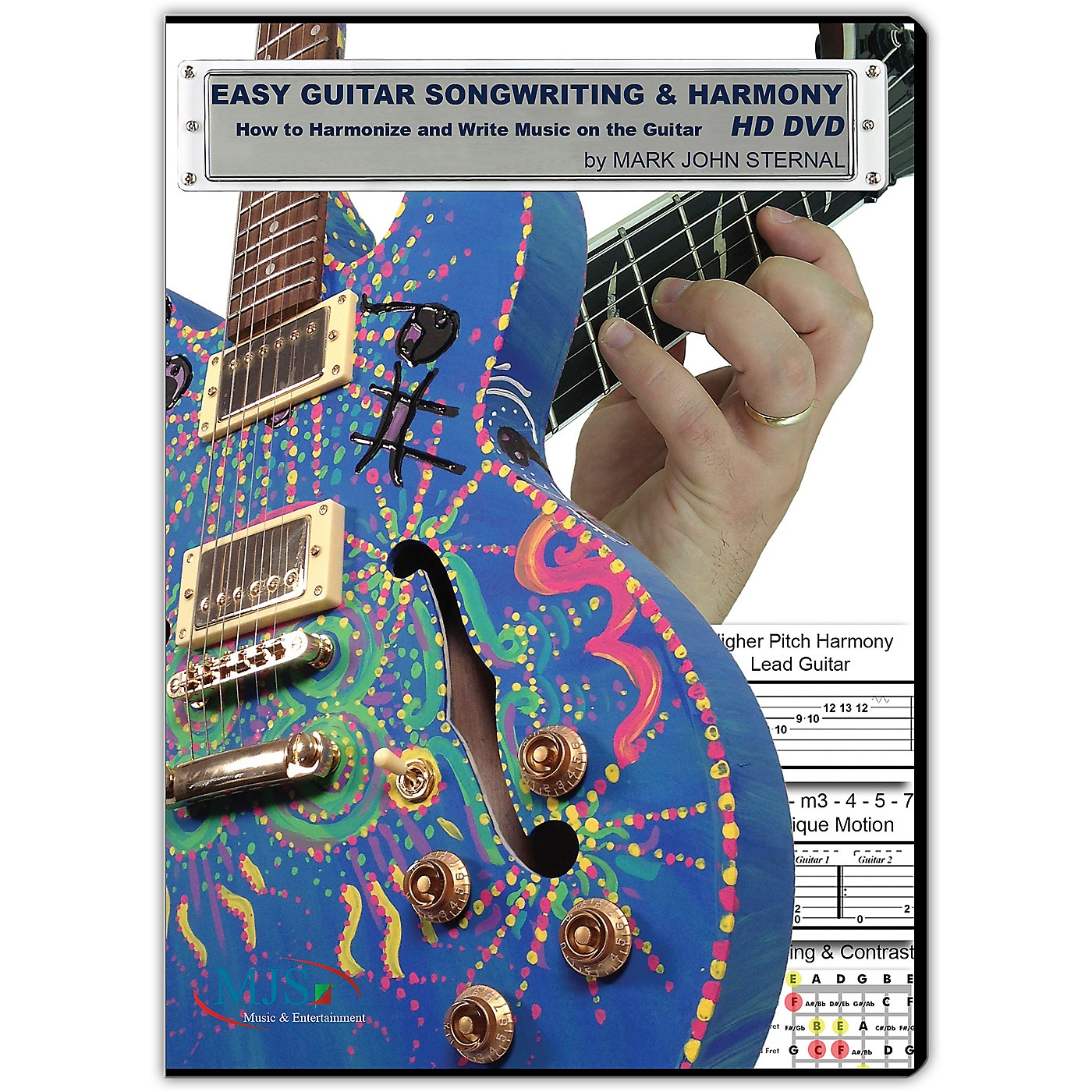 MJS Music Publications EASY GUITAR SONGWRITING DVD: Writing Music and Harmony on the Guitar thumbnail