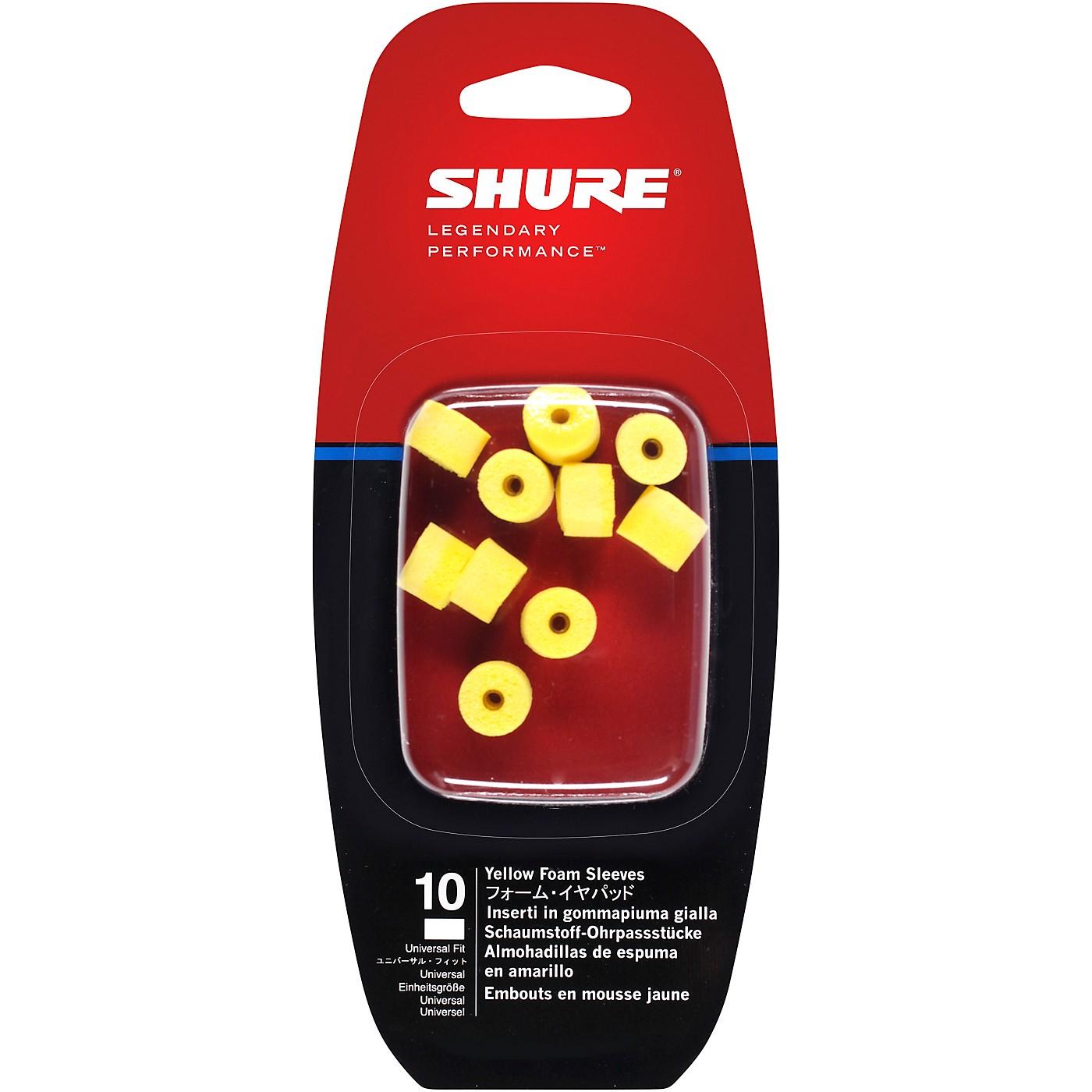Shure EAYLF1-10 Foam Sleeves for SE Earphones thumbnail