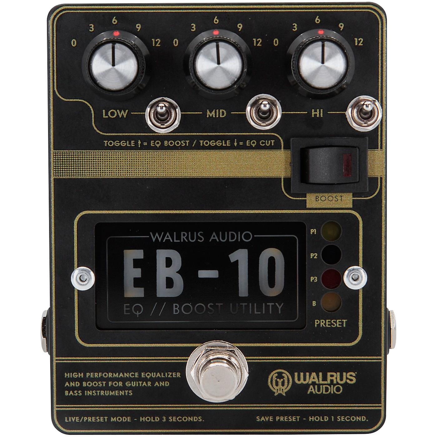 Walrus Audio EB-10 Preamp/EQ/Boost Effects Pedal thumbnail
