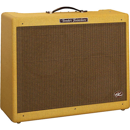 Fender EC Twinolux 40W 2x12 Hand-Wired Tube Guitar Combo Amp-thumbnail