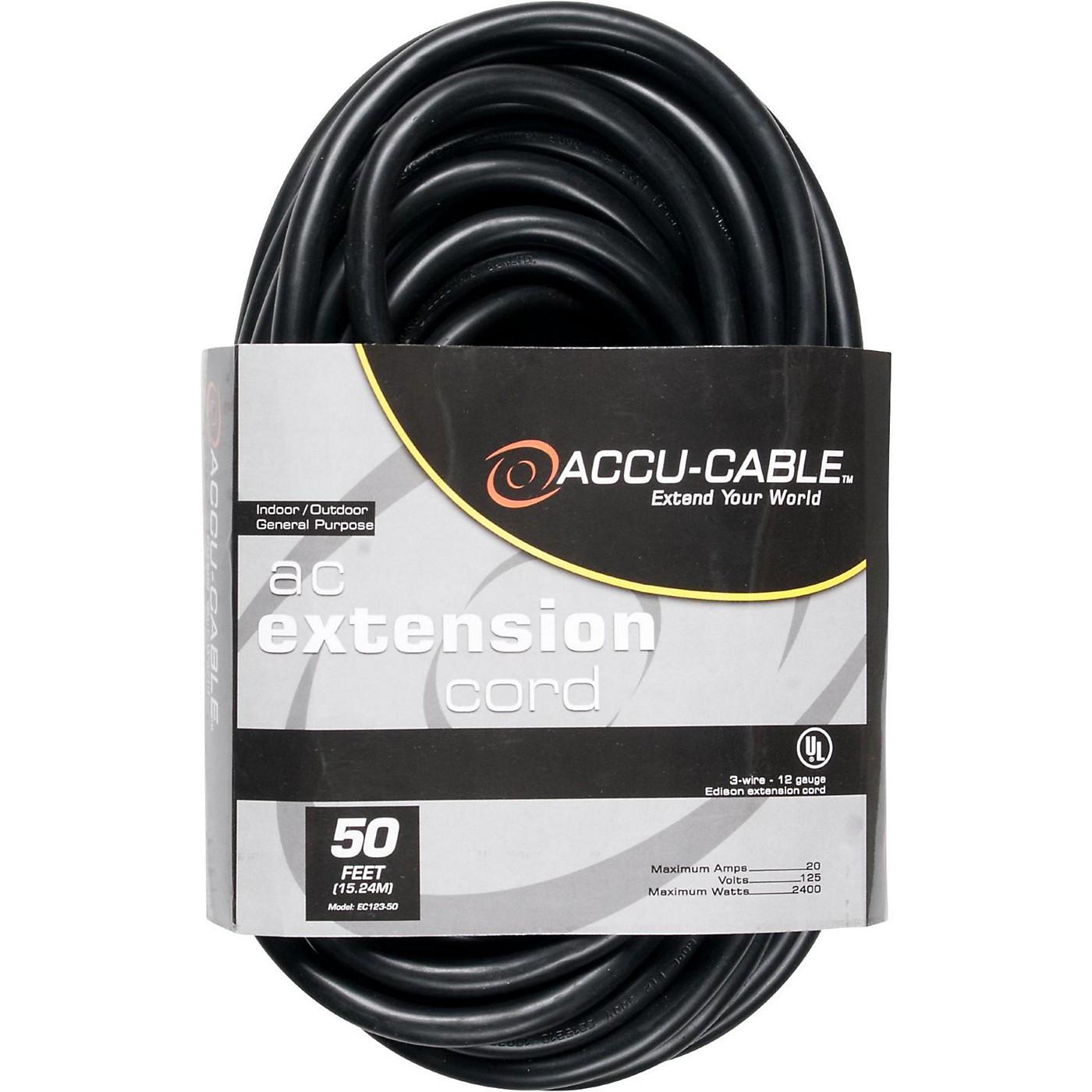 American DJ EC123 12 Gauge IEC Power Extension Cord thumbnail