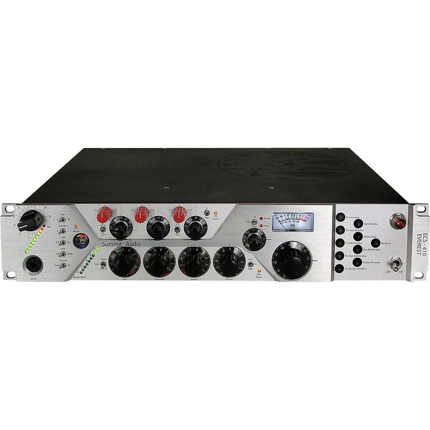 Summit Audio ECS-410 Everest Configurable tube channel strip thumbnail