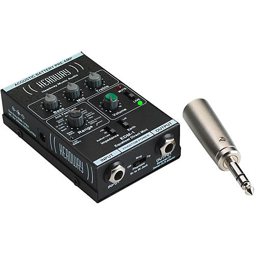 Headway EDM-1 Mini Direct Preamp with Power Supply thumbnail