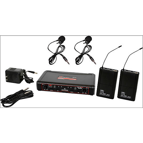 Galaxy Audio EDXR/38VV Dual-Channel Wireless Lavalier System thumbnail