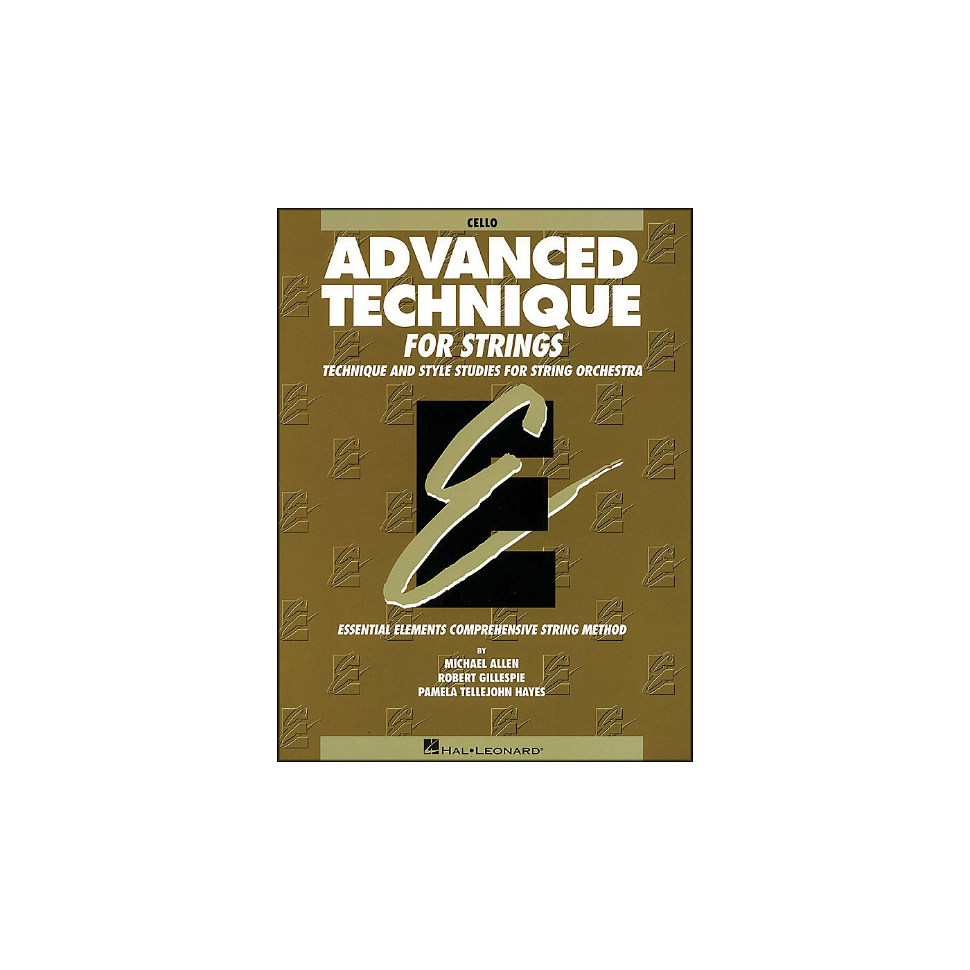 Hal Leonard EE Advanced Technique for Strings Cello thumbnail