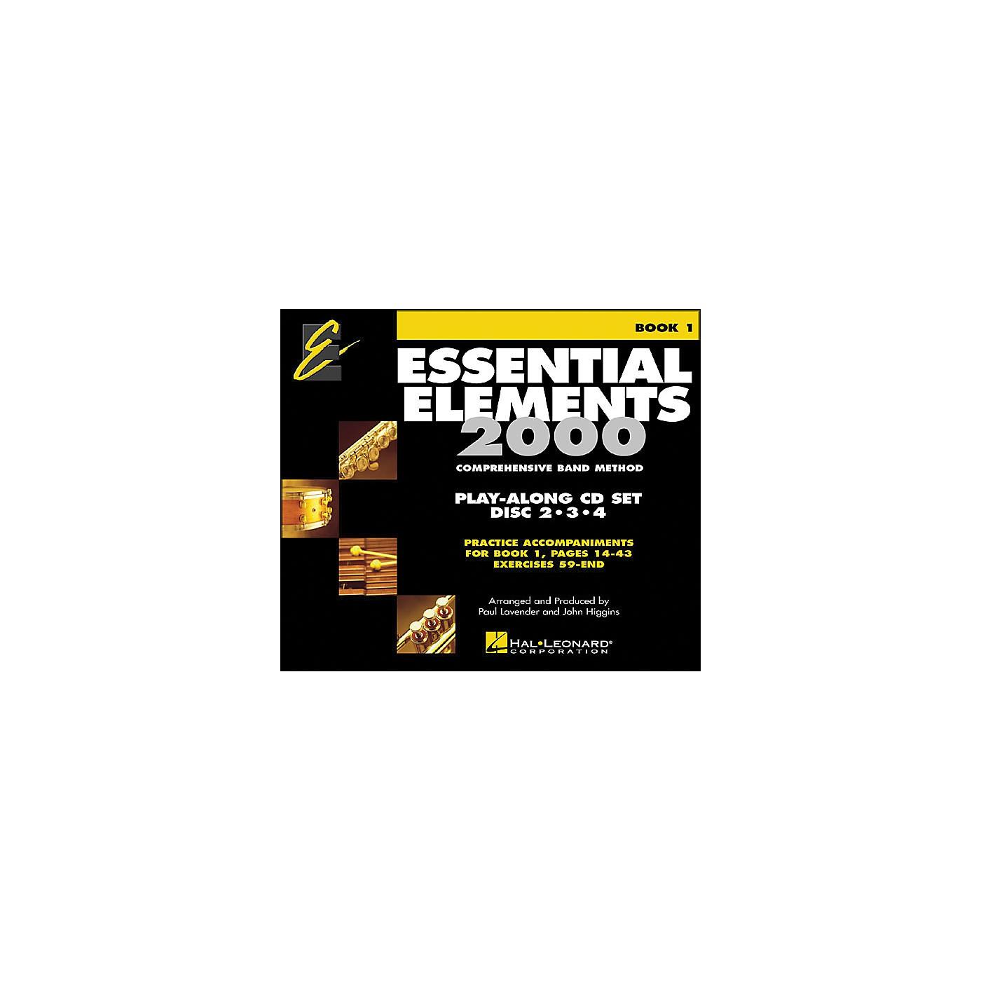 Hal Leonard EE2000 Play Along Trax 3-CD Set thumbnail