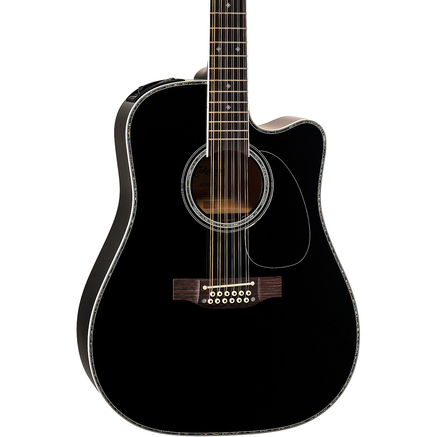 Takamine EF381DX 12-String Acoustic-Electric Guitar thumbnail