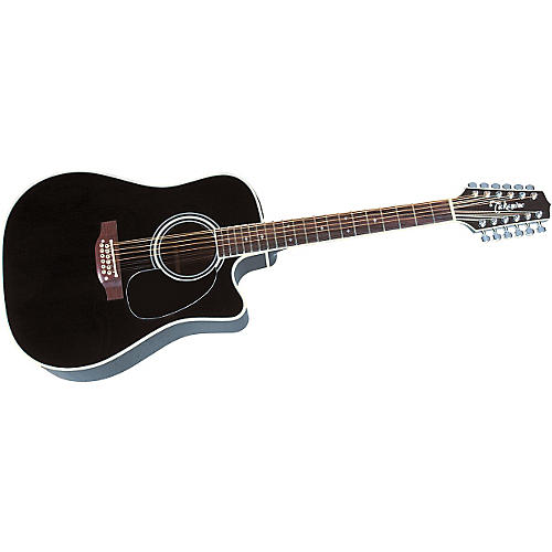 Takamine EF381SC 12-String Acoustic-Electric Cutaway Guitar thumbnail