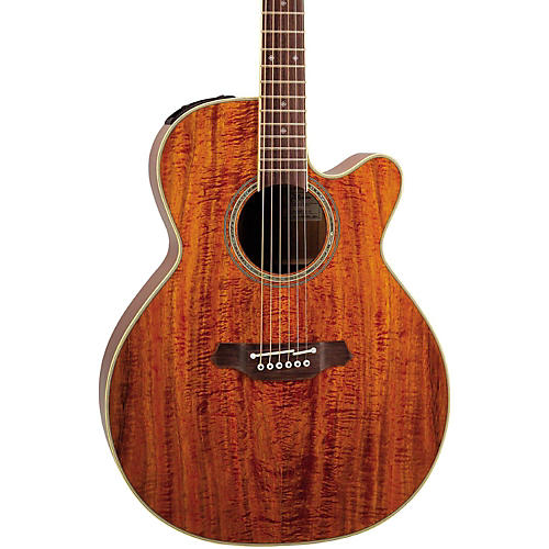 Takamine EF508KC NEX Legacy Series All Koa Acoustic-Electric Guitar thumbnail