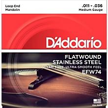 D'Addario EFW74 Phosphor Bronze Medium Mandolin Strings (11-36)